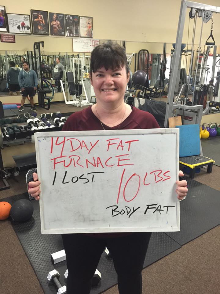 With months of training for the Disney half marathon I still did not lose weight. So I decided to try the 14 day fat furnace... before I knew it 10 lbs gone!