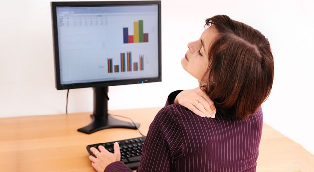 Home remedies for back and neck problems caused by computer and cell phone use